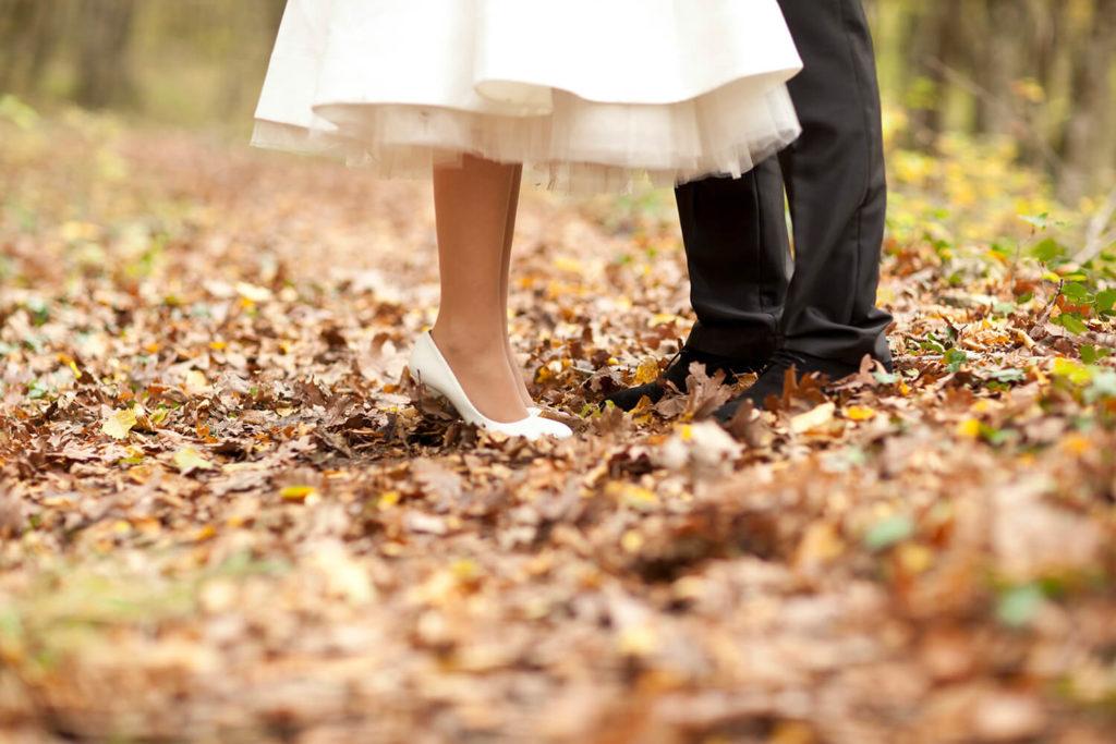 La luz del otoño y sus atardeceres darán un toque realmente especial a vuestra sesión de fotos.
